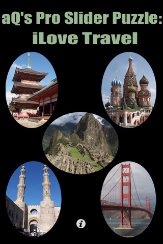 Screenshot aQ's Pro Slider Puzzle: iLove Travel